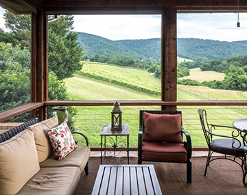 The House at Afton Mountain Vineyards