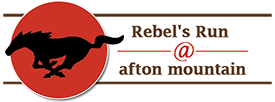 Rebels Run at Afton Mountain