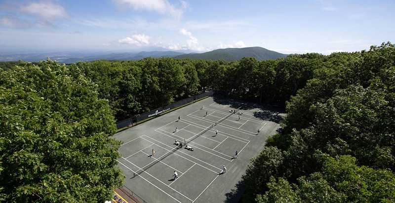 Tennis at Wintergreen Resort