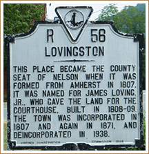 Lovingston-Historical-Marker
