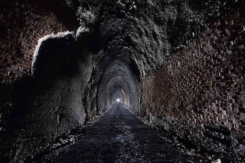 Blue Ridge Tunnel interior